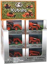 New Ray - Tratadores Kubota surtidos, escala 1/64, modelo medio de águilas, multicolor, 0093577341935