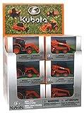 New Ray - Tratadores Kubota surtidos, escala 1/64, modelo medio de águilas,...