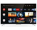 TCL 50P715K 50' Ultra Slim 4K HDR Smart Android TV with Freeview HD