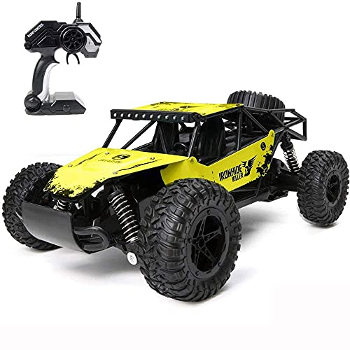 GLXLSBZ 1/16 Scale Off-road Remot Control Car Toy 2.4G Wireless Drift RC Vehicle Rechargeable Children's Toy Buggy Crash And Drop Resistan