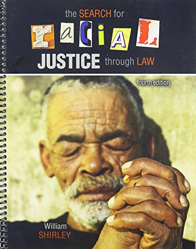The Search for Racial Justice Through Law