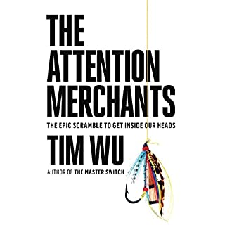 The Attention Merchants audiobook cover art