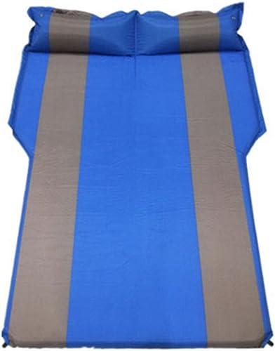 DMGF Camping Gonflable Voiture Matelas Universel Pliable Air Bed étendu Air Coussin Voyage Air Pad Tapis Anti-Humidité Et 2 Air Coussins,C