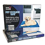 Self Cooling Gel Pet Dog Cat Cool Mat Pad Bed Mattress Heat Relief