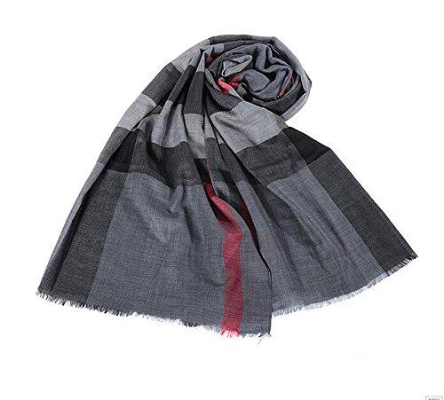 KYXXLD sjaal van pure wol en sjaal voor vrouwen in de herfst en winter