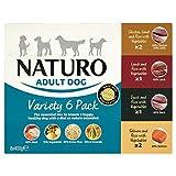 Naturo Adult Variety Dog Food Tray 6X400g