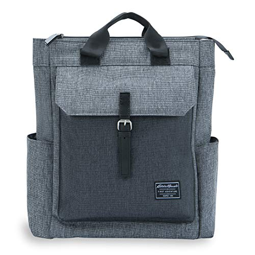 Eddie Bauer Eddia Bauer Mercer Convertible Diaper Backpack, Grey