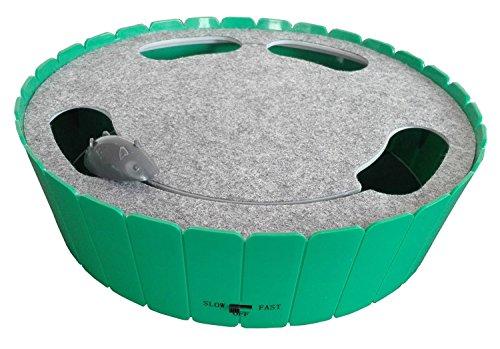 M-PETS Hunt Green&Grey 25.5x25.5x7cm pour Chat