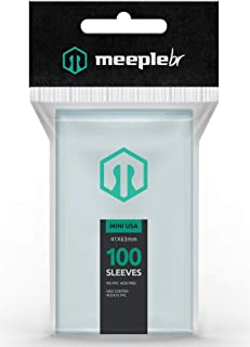Sleeves MeepleBR - MINI USA (41x63mm)