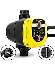 TROTEC Elektronische Drukschakelaar TDP DSA automatische drukregeling van 1-fase waterpompen huiswaterpompen (max. 10 bar) met stekker