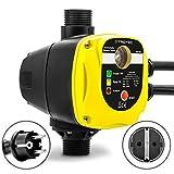 TROTEC Elektronischer Druckschalter TDP DSA Pumpensteuerung Druckwächter für Hauswasserwerk Gartenpumpen (max. 10 bar) mit Stecker