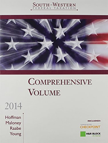 South-Western Federal Taxation, 2014: Comprehensive Volume