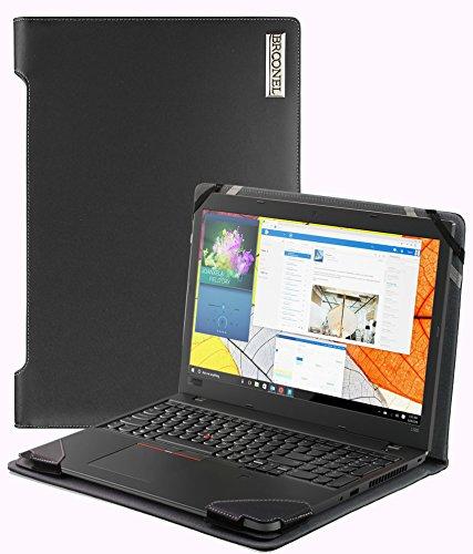 Preisvergleich Produktbild Navitech Broonel - Profile Series - Schwarzes Premium Leder Case / Cover Trage Tasche speziell für das Lenovo ThinkPad X270