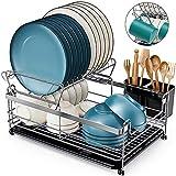 HOMEMAXS Dish Drying Rack, [2020 Newest] Kitchen Dish Rack...