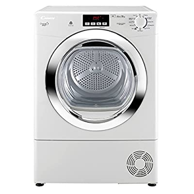 CANDY GVCD101BC 10kg 2 Temps Condenser Sensor Tumble Dryer in White