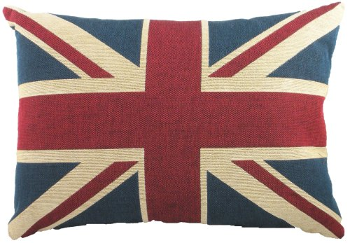 Evans Lichfield Union Jack Traditional Tapestry Kissen, 18 x 13 Inch, Polyester Fibre Filled
