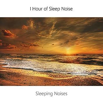 1 Hour Sleep Noise Loop. Sea, Wind and Brown Noise Sleep. Sleeping Music.