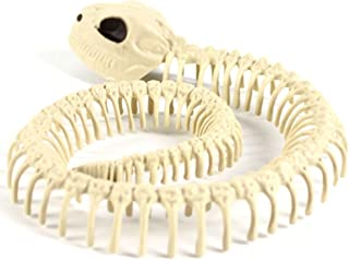 Wansan 1 Pc Skeleton Snake Decoration Aquarium Ornament Goat Skull Statue Figurine Decorations