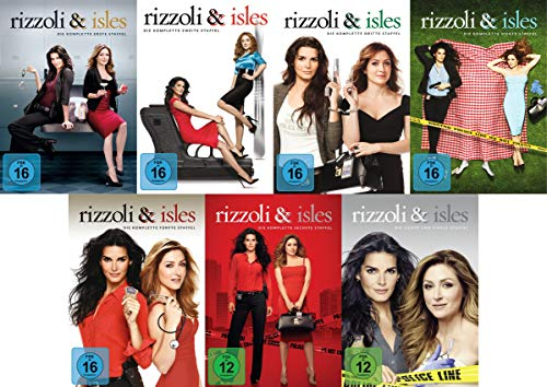 Rizzoli & Isles - Die komplette Serie - Staffel 1+2+3+4+5+6+7 im Set (25 DVDs)