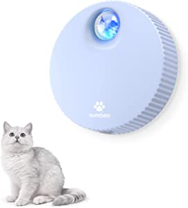 Sumbee Cat Litter Deodorizer, Smart Odor Eliminator for Small Pets, Unscented and Dust-Free Deodorizer for Small Animals' Toilet or Home, Rechargeable Smell Eliminator