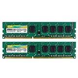デスクトップPC用メモリ 1.35V (低電圧) DDR3L-1600 PC3L-12800 4GB×2枚 240Pin Mac 対応 永久保証 SP008GLLTU160N22