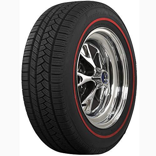 Coker Tire 6880831 American Classic Radial Redline 235/55R17