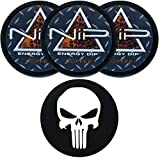 Nip Energy Dip Coffee 3 Cans with DC Crafts Nation Skin Can Cover - Skull