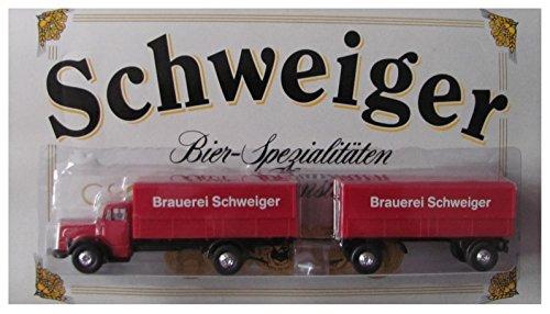 Privatbrauerei Schweiger Nr.03 - Bier Spezialitäten - MB 6600 - Hängerzug Oldie