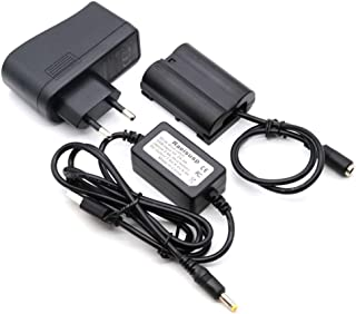 DC 5V-8.4V USB Línea De Conducción EP-5B + EN-EL15 MB-D15 Batería Virtual + 5V3A USB Adaptador para Nikon V1 D7200 D7100 D810 D800E D750 D610