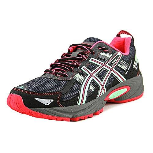 ASICS Zapatillas para Mujer Gelventure 5 Trail Runner, Color Gris, Talla 39 EU