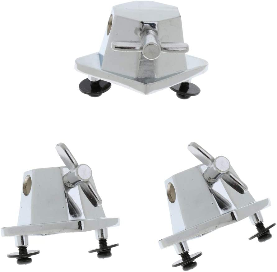Fashion F Fityle 3x Floor New arrival Tom Drum Bracket Par Replacement Mounting Base