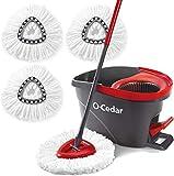 O-Cedar EasyWring Microfiber Spin Mop & Bucket...