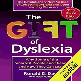 The Gift of Dyslexia audiobook cover art