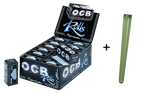 OCB 1007 Papers OCB Premium Rolls slim - 24 Rollen + Joint-Hülle