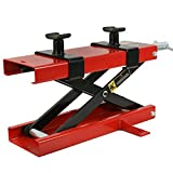ZENY 1100 LB Motorcycle Center Scissor Lift Jack Hoist Stand...