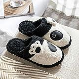 Nwarmsouth Hausschuhe Damen Herren Pantoffeln,rutschfeste Baumwollschuhe, warme und samtige...