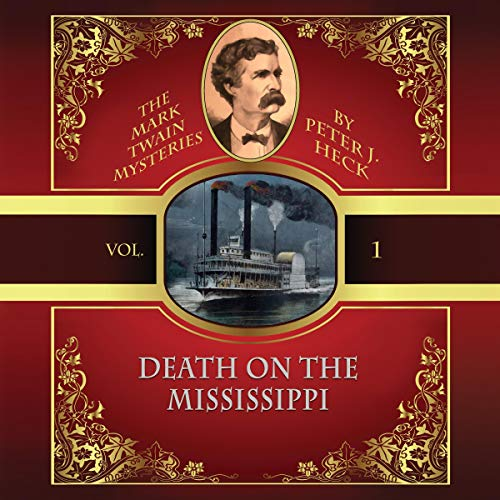 Death on the Mississippi audiobook cover art