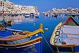 571067 St Julian's Bay Malta A4 Photo Poster Print 10x8