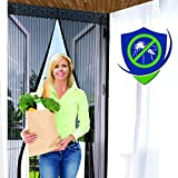 Reinforced Magnetic Screen Door - Many Sizes and Colors to Fit Your Door Exactly...