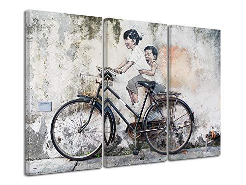 Declina wandfoto, wanddecoratie, wandfoto, woonkamerdecoratie, bedrukt canvas, 90 x 60 cm, meerkleurig 120x80 cm Meerkleurig