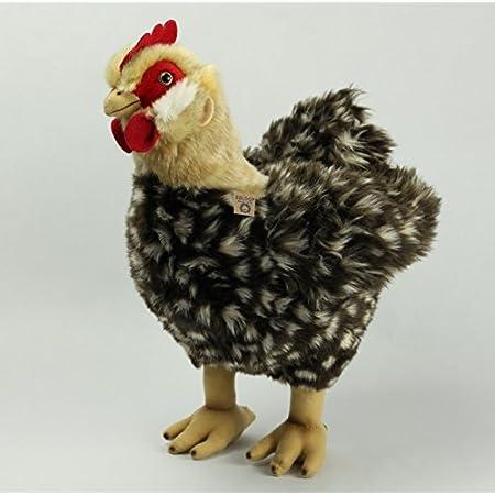 H. ca. 36cm Stofftier Huhn mit Ei Kuscheltier Kuscheltier Plüschtier Henne