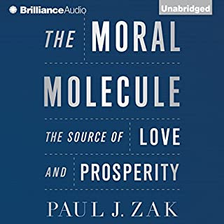 The Moral Molecule audiobook cover art