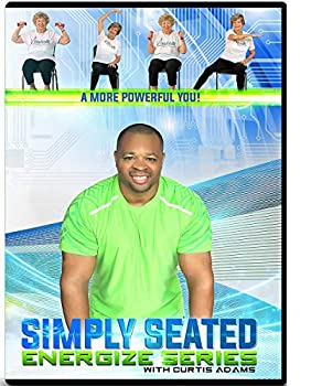 CHAIR EXERCISE DVD FOR SENIORS- Simply Seated is an invigorating Total Body Chair Workout Warm up Aerobic Endurance Strengthening Stretching You will love this chair exercise for seniors DVDs