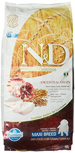 Farmina N&D Getreidearm Puppy große Rassen Trockenfutter Bitte auswählen: 12 kg
