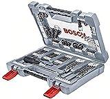 Bosch Professional 2608P00236 BOSCH ACC 105 PCS MIXED SET, 0 W, 0 V, Gris, Acero Inoxidable, talla, Piezas