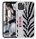 Yeezy 350 - Funda protectora para iPhone 11 Pro Max (11 Pro Max, Zebra)
