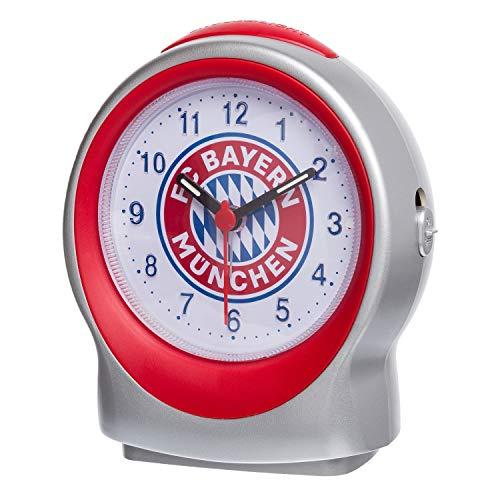 Bayern München Wecker - Emblem - Uhr FCB - Plus Lesezeichen I Love München