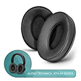 Brainwavz ProStock Perforated ATH M50X Upgraded Earpads, Improves Comfort & Style Without Changing Sound - Custom Crafted Ear Pad Design for ATH-M50X M50BTX M20X M30X M40X Headphones