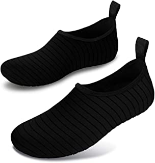 WZHZJ Outdoor Beach Sneakers Men Summer Water Shoes Men Swimming Diving Socks Aqua Shoes Women Non-Slip Breathable Fitness...