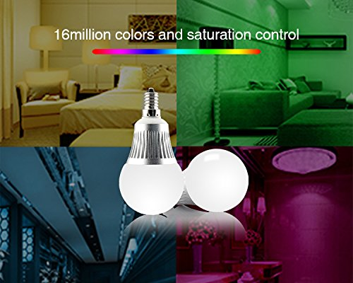 1 x Fut013 E14 5W RGB+CCT Wifi Led Lampe dimmbar 2,4Ghz original Mi-Light MILIGHT© Miboxer© AC 230V